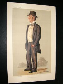 Vanity Fair Print 1889 Lord Justice Barry